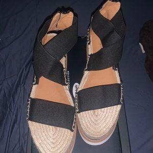 Jeffrey Campbell Merez platform sandal size 40 new